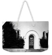 The Blue Door B And W Weekender Tote Bag