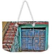 The Blue Door - India Weekender Tote Bag