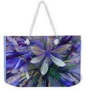 The Blue Flowers Of Melanie  Weekender Tote Bag