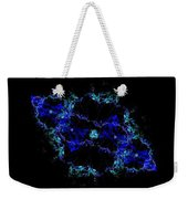 The Blue Galaxy Weekender Tote Bag