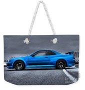 The Blue Ghost Weekender Tote Bag