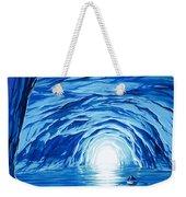 The Blue Grotto In Capri By Mcbride Angus  Weekender Tote Bag by Angus McBride