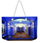 The Blue Hallway Weekender Tote Bag