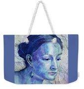 The Blue Jewel Weekender Tote Bag