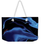 The Blue Kiss Weekender Tote Bag