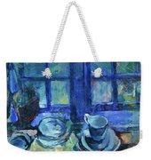The Blue Kitchen Weekender Tote Bag