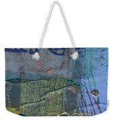 The Blue Lady Prays Weekender Tote Bag