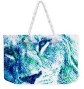 The Blue Lion Weekender Tote Bag