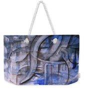 The Blue Machine Weekender Tote Bag