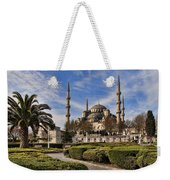 The Blue Mosque In Istanbul Turkey Weekender Tote Bag by David Smith