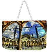The Blue Mosque Istanbul Art Weekender Tote Bag