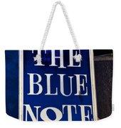 The Blue Note - Bourbon Street Weekender Tote Bag