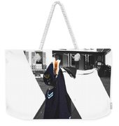 The Blue Of War At The Cottage Weekender Tote Bag