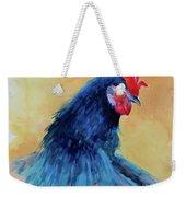 The Blue Rooster Weekender Tote Bag