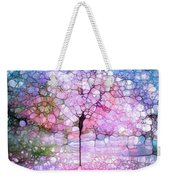 The Blushing Tree In Bloom Weekender Tote Bag