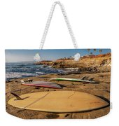 The Boards Weekender Tote Bag by Peter Tellone