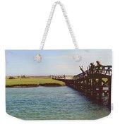 The Boardwalk Leap Weekender Tote Bag