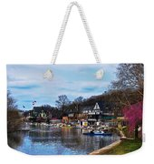 The Boat House Row Weekender Tote Bag