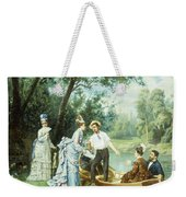 The Boating Party Weekender Tote Bag