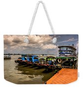 The Boats Weekender Tote Bag