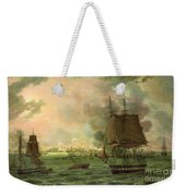 The Bombing Of Cadiz By The French  Weekender Tote Bag