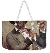 The Bone Player, 1856 Weekender Tote Bag