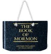 The Book Of Mormon Weekender Tote Bag