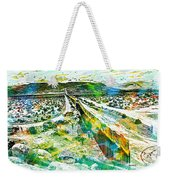 The Border Weekender Tote Bag