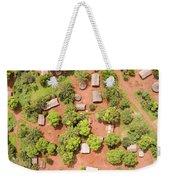 The Border Town Village Of Bangassou Weekender Tote Bag