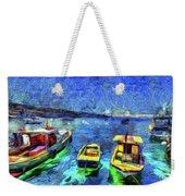 The Bosphorus Istanbul Art Weekender Tote Bag