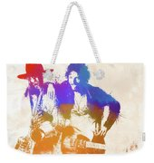 The Boss And The Big Man Weekender Tote Bag