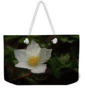 The Boulder Raspberry Flower Weekender Tote Bag