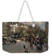 The Boulevard Des Italiens Weekender Tote Bag