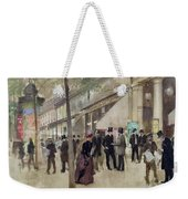 The Boulevard Montmartre And The Theatre Des Varietes Weekender Tote Bag