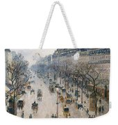 The Boulevard Montmartre On A Winter Morning, 1897  Weekender Tote Bag