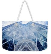The Bow Building Weekender Tote Bag