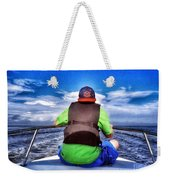 The Bow Rider Weekender Tote Bag