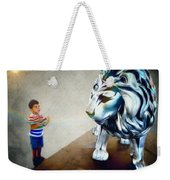 The Boy And The Lion 10 Weekender Tote Bag
