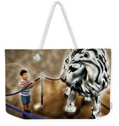 The Boy And The Lion 13 Weekender Tote Bag