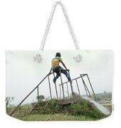The Boy Like To Imazine Weekender Tote Bag
