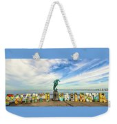 The Boy On The Seahorse Pano Weekender Tote Bag