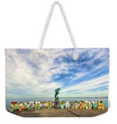 The Boy On The Seahorse Weekender Tote Bag