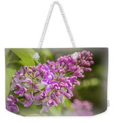The Branch Of Lilac Weekender Tote Bag
