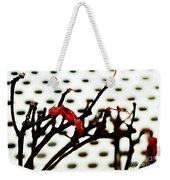 The Branches Naked By Wind And Rain. Weekender Tote Bag