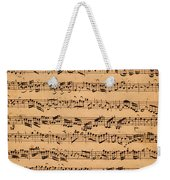 The Brandenburger Concertos Weekender Tote Bag