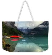The Breathtakingly Beautiful Lake Louise Banff National Park Weekender Tote Bag