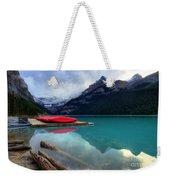 The Breathtakingly Beautiful Lake Louise Iv Weekender Tote Bag