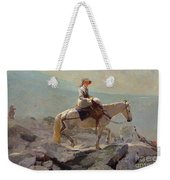 The Bridal Path Weekender Tote Bag by Winslow Homer