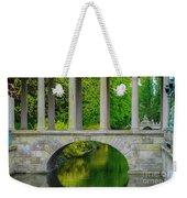 The Bridge Across The Pond Weekender Tote Bag