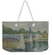 The Bridge At Courbevoie Paris, May - July 1887 Vincent Van Gogh 1853  1890 Weekender Tote Bag